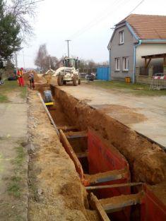 Kanalizace Nepolisy, ul. Luková