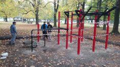Workoutové hřiště