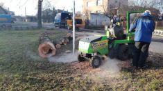Údržba veřejné zeleně v Lukové a Zadražanech