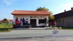 Oprava autobusové zastávky Nepolisy