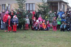 Rozsvícení vánočního stromu v Lukové